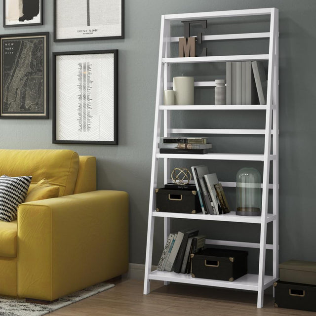 Load image into Gallery viewer, White | Acadian 72 x 30 inch Bookcase