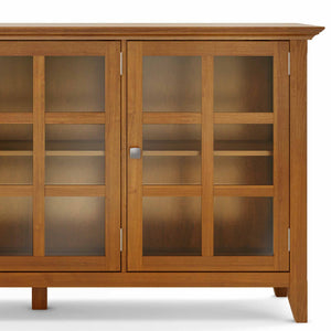 Light Golden Brown | Acadian Wide Storage Cabinet