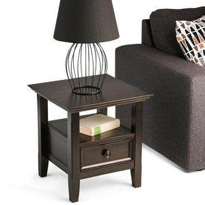Hickory Brown | Amherst End Side Table