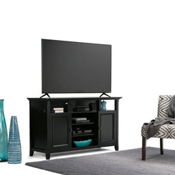 Black | Amherst Tall TV Stand