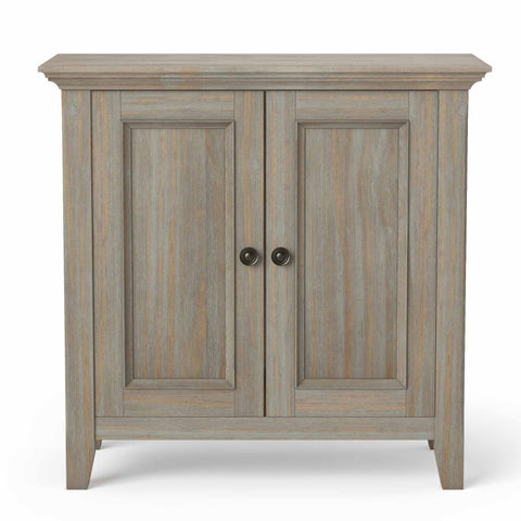 Distressed Grey | Amherst Low Storage Cabinet