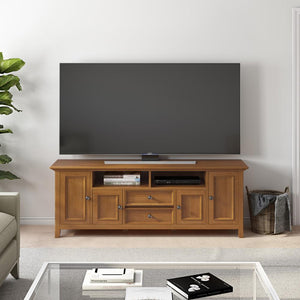 Light Golden Brown | Amherst 72 inch Wide TV Media Stand