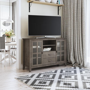 Farmhouse Grey | Artisan Tall TV Stand