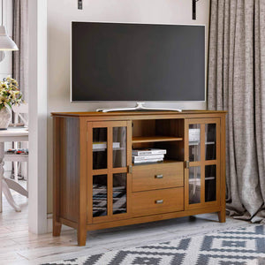 Honey Brown | Artisan Tall TV Stand