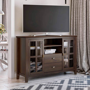 Tobacco Brown | Artisan Tall TV Stand