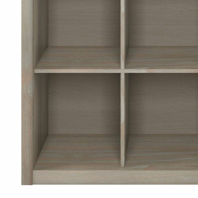Load image into Gallery viewer, Distressed Grey | Artisan Nine Cube Bookcase & Storage