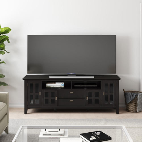 Hickory Brown | Artisan 72 inch Tall TV Stand