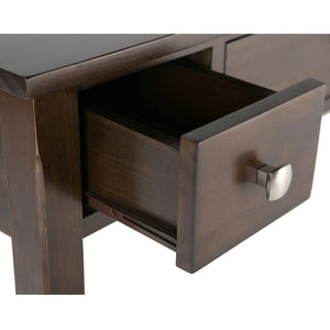 Rich Tobacco Brown | Avalon Office Desk