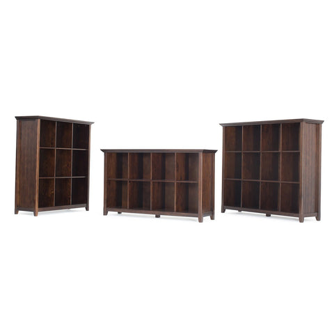Tobacco Brown | Acadian Nine Cube Bookcase & Storage Unit