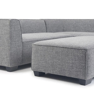 Bainbridge Sectional with Ottoman