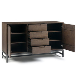 Banting Mid Century Sideboard with Centre Drawers