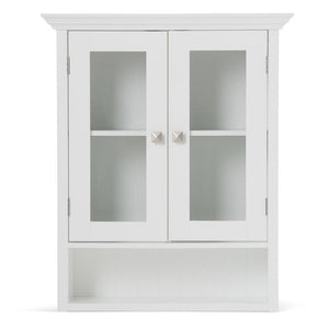Acadian 24 x 28 inch Double Door Wall Cabinet in White