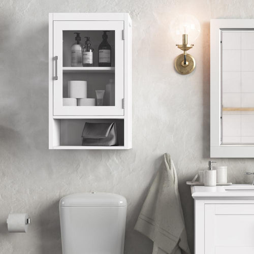 Pure White | Gatsby Single Door Wall Cabinet