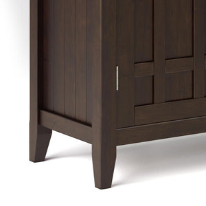Dark Chestnut Brown | Bedford Sideboard Buffet & Winerack