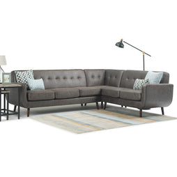 Bronte Tufted Mid Century Sectional