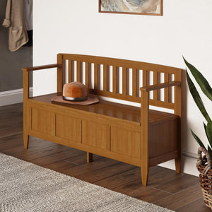 Light Golden Brown | Brooklyn Entryway Bench