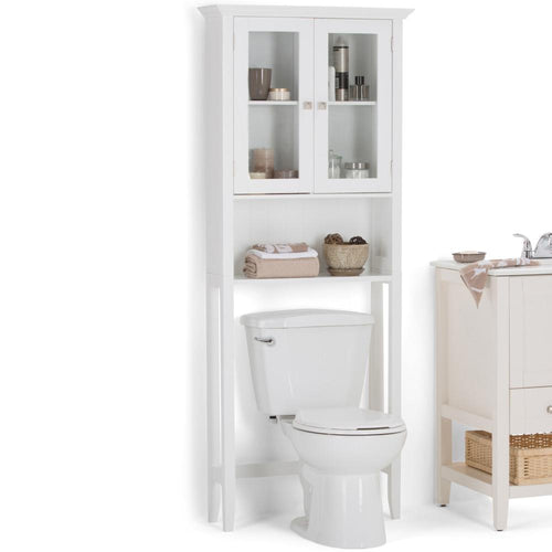 Pure White | Acadian Space Saver Cabinet