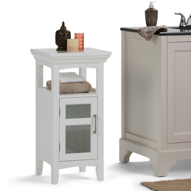 Load image into Gallery viewer, Pure White | Avington Floor Storage Cabinet