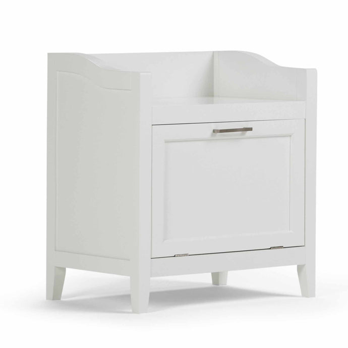 Pure White | Avington Hamper Bench