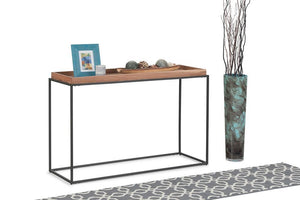 Carter Tray Top Console Table