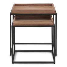 Load image into Gallery viewer, Carter Tray Top Nesting 2 Pc Table
