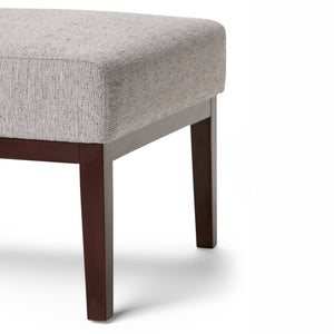 Grey | Upton Linen Look Fabric Accent Chair