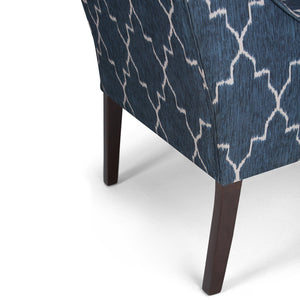 Hayworth Moroccan Pattern Accent Chair
