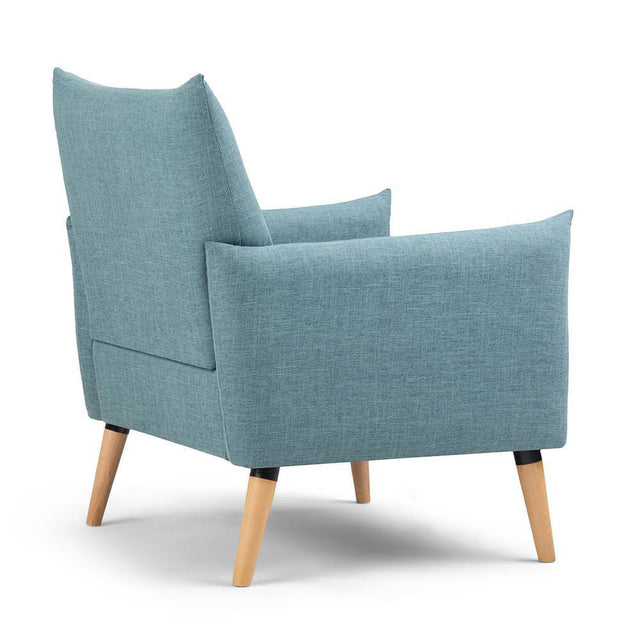 Load image into Gallery viewer, Dark Cyan | Keenan Accent Chair