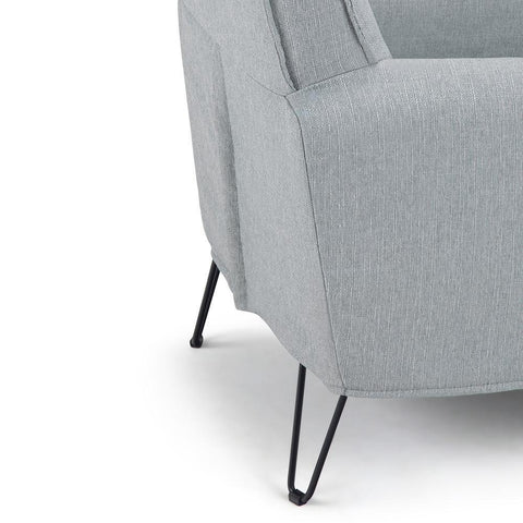 Cool Grey | Warren Accent Chair