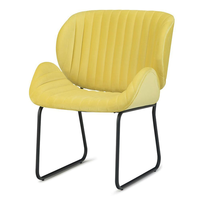 Daffodil Yellow | Rivley Accent Chair