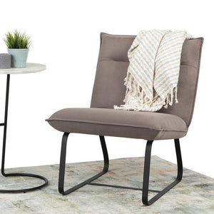 Eliza Metal Frame Accent Chair