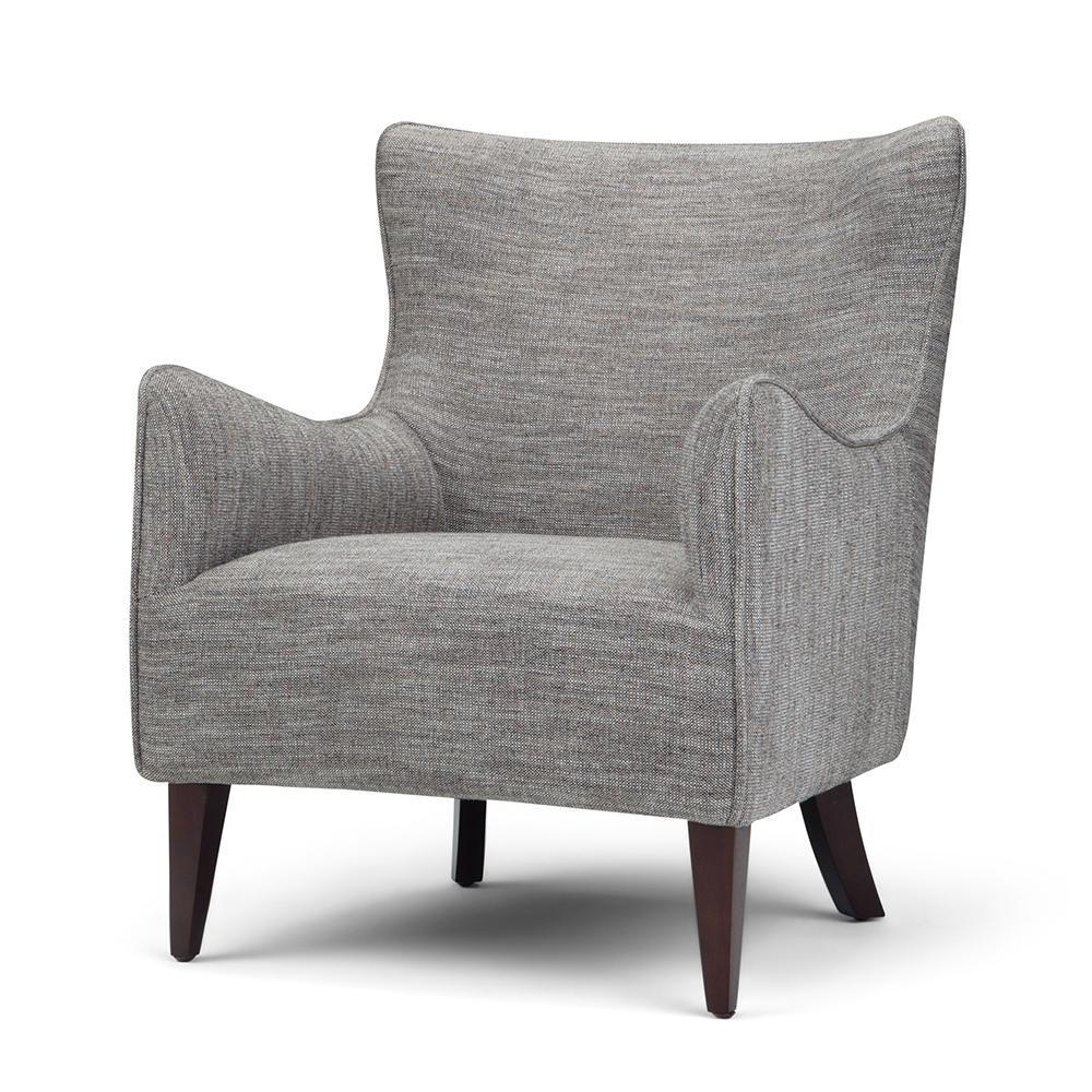 Accent Chairs.Libby Winged Back Accent Chair Simpli Home