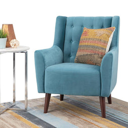 Bennett Tufted Back Accent Chair
