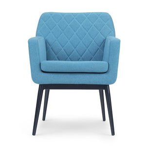 Alegra Quilted Back Accent Chair