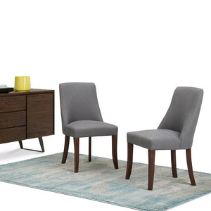 Walden Linen Look Deluxe Dining Chair (Set of 2)