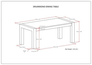 Drummond Dining Table
