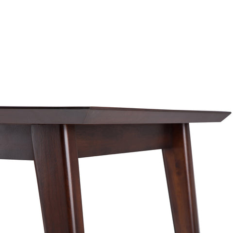 Java Brown | Draper Mid Century Rectangular Dining Table