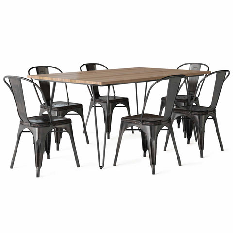 Fletcher IV 7 Piece Dining Set