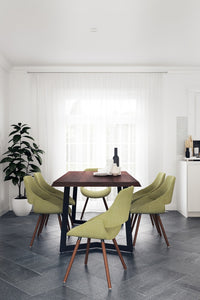 7 Piece Set Acid Green | Malden 7 Piece Dining Set