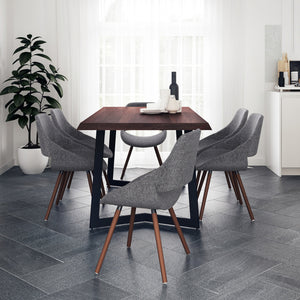 7 Piece Set Grey | Malden 7 Piece Dining Set