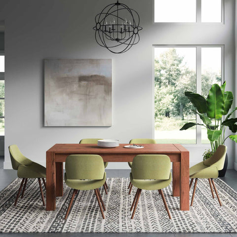7 Piece Set Acid Green | Malden III 7 Piece Dining Set