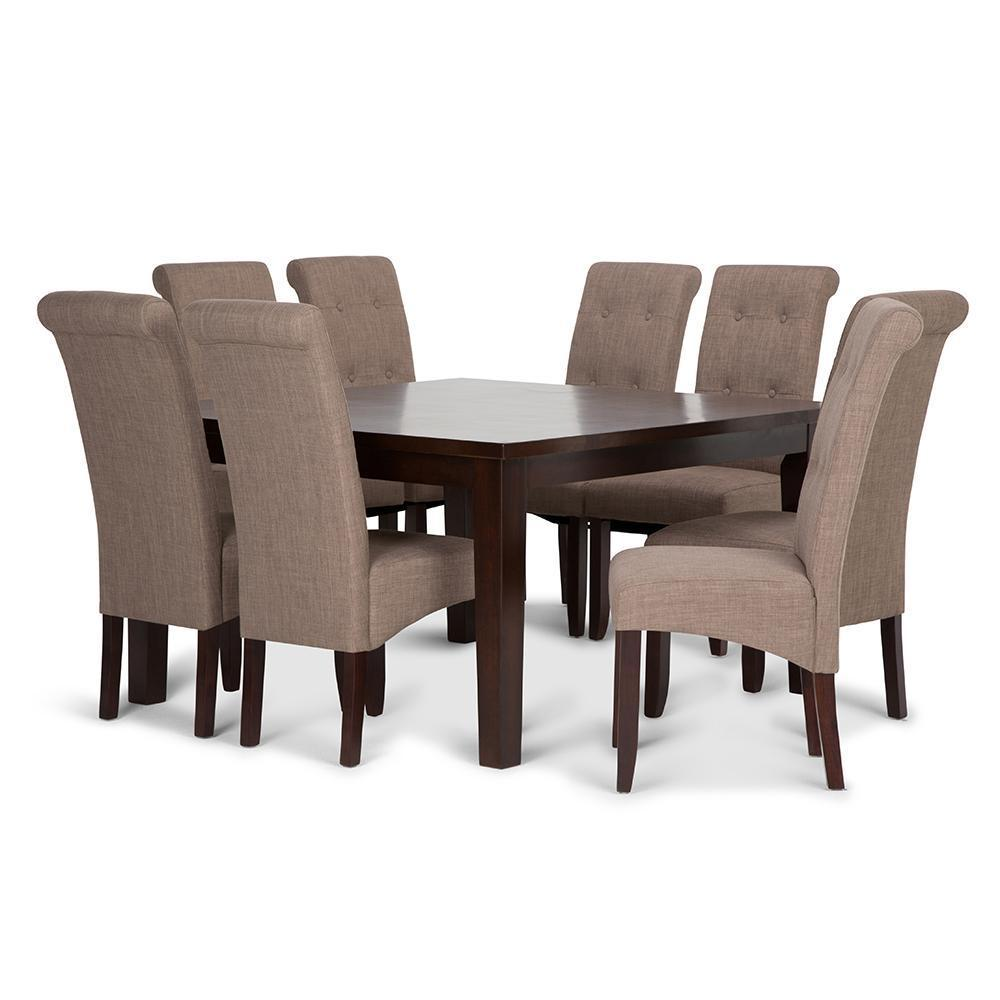 Cosmopolitan Large 9 Piece Dining Set