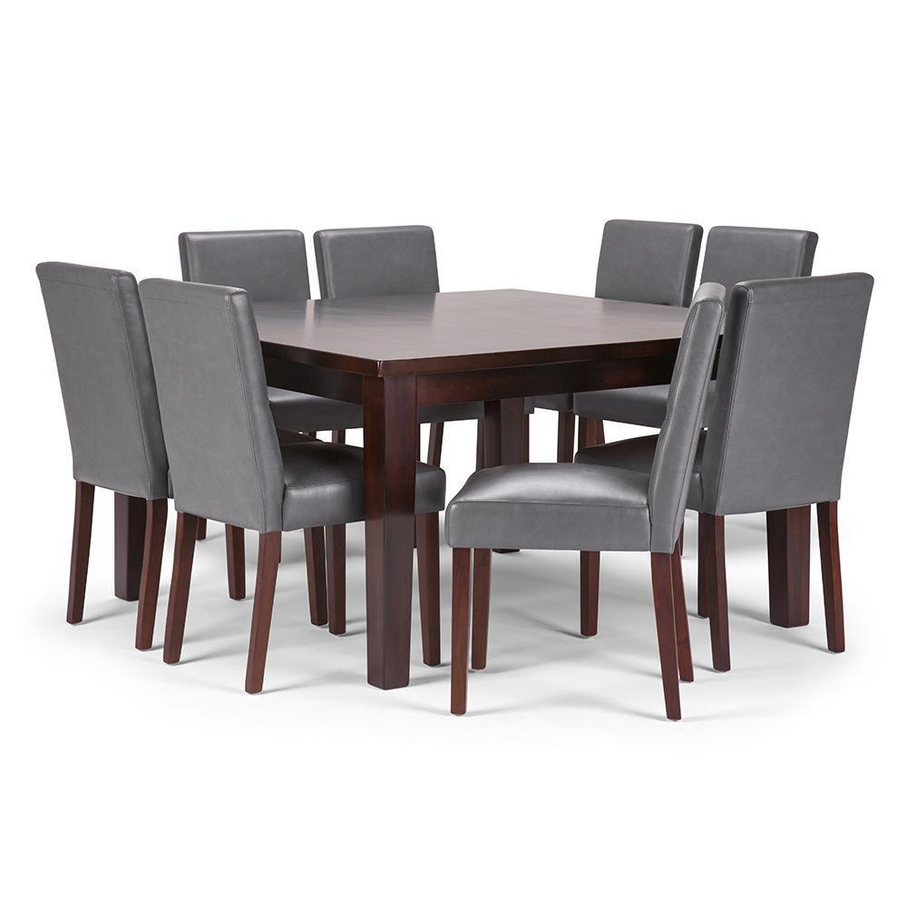 Stone Grey | Ashford 9 Piece Dining Set
