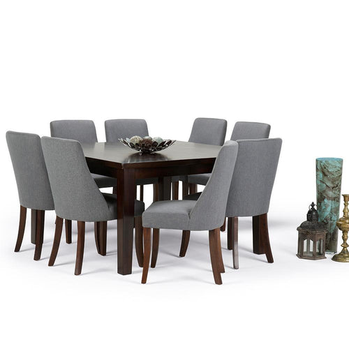 9 Piece Slate Grey | Walden Large 9 piece Dining Set