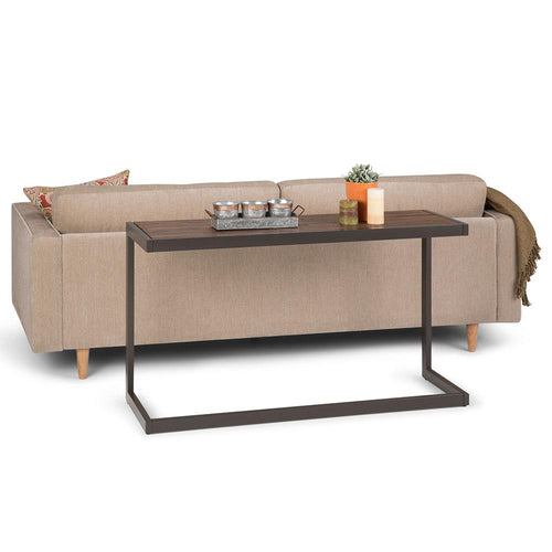 Rustic Natural Aged Brown | Erina Console Sofa Table