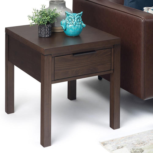 Hollander Solid Wood End Table