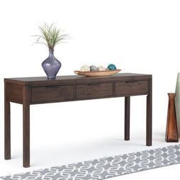 Hollander Solid Wood Wide Console Table