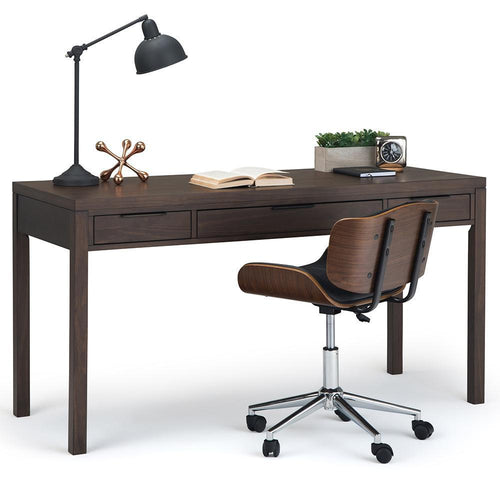 Walnut Brown | Hollander Solid Wood Desk