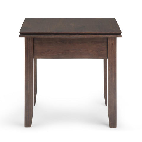 Tobacco Brown | Artisan End Side Table