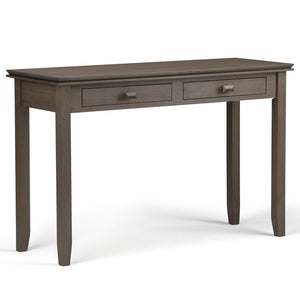 Farmhouse Grey | Artisan Console Sofa Table